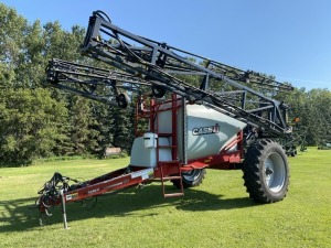 100' CaseIH PS160 Precision Spray high clearance PT sprayer