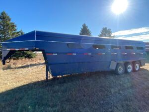 *2001 Real Industries triple axel stock trailer
